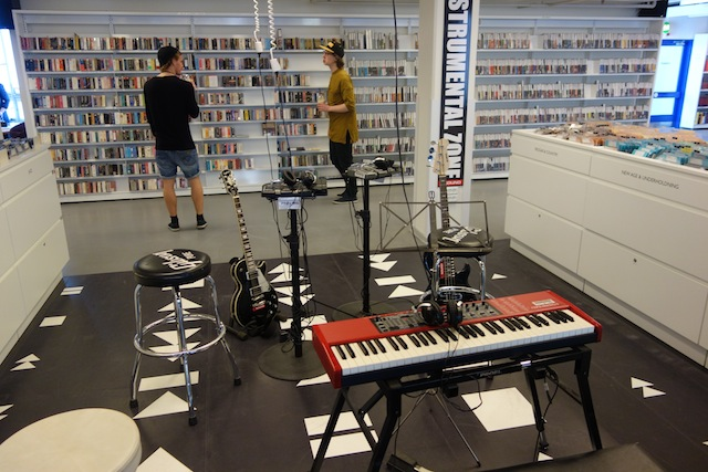 コペンハーゲン図書館