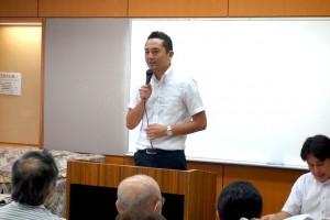 藤が丘地区センターにてタウンミーティングを開催しました。