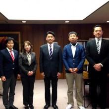 小田原市長訪問。市民協働への取組み。