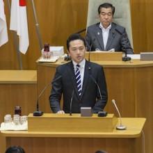 横浜市新市庁舎整備計画について、反対討論を行いました。