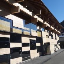 高知県梼原町の、環境モデル都市の取り組み視察。