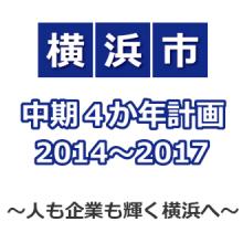 横浜市中期4か年計画2014~2017、に反対しました。