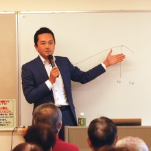 奈良地区センターにてタウンミーティングを開催しました。
