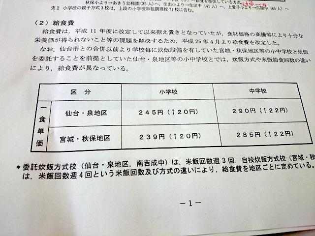 仙台市中学校給食