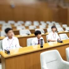 田奈高校生の、1日職場見学体験の受け入れをしました。