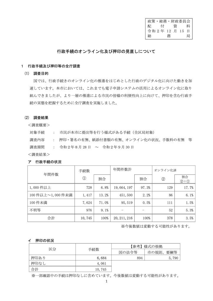 横浜市行政手続きのオンライン化